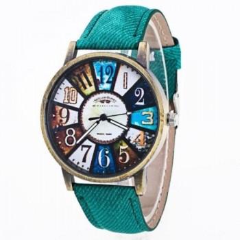 Reloj de pulsera de cuero,...