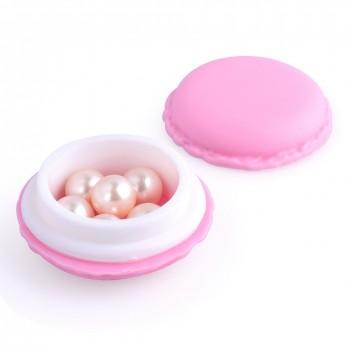 Caja - joyero macaron rosa...