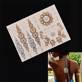 11 Tattos Etnicos Dorados y...
