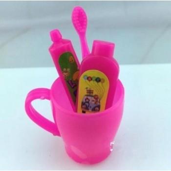 Set de 4 Piezas De Aseo Barbie