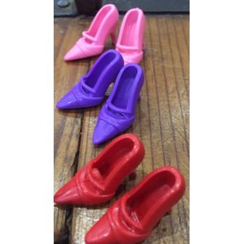 Zapatos Clásicos De Tacón...