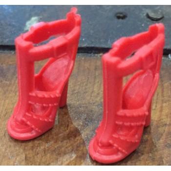 Zapatos De Tacón Rojo para...