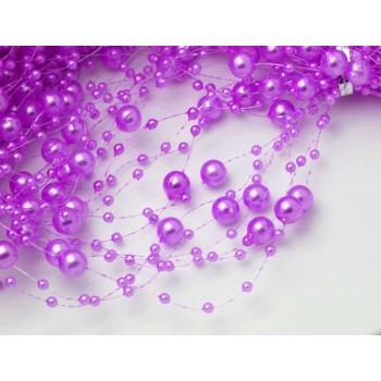 Guirnalda violeta o lila claro