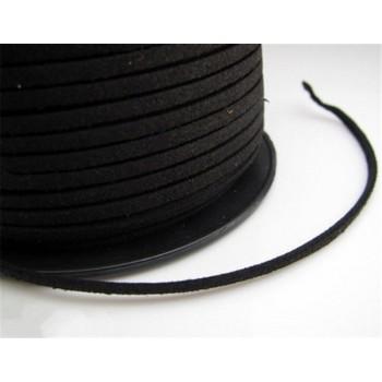 10 metros cordón negro piel...