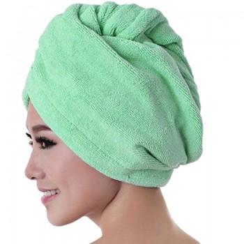 Gorro de baño verde