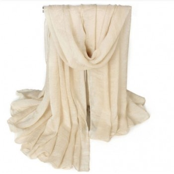 Pañuelo / foulard en crema...
