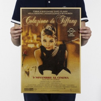 PÓSTER  Audrey Hepburn nº3
