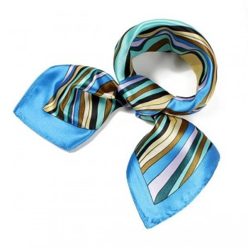 Pañuelo lazo mujer azul MOD2