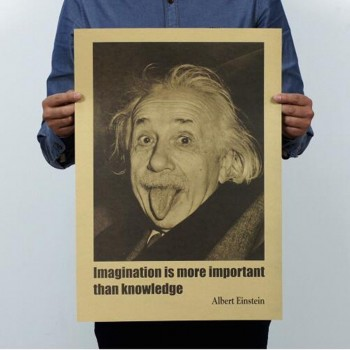 PÓSTER - CARTEL RETRO EINSTEIN