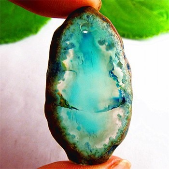 Geode Ágata en azul