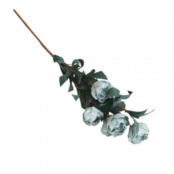 Bouquet de rosas entre azul...