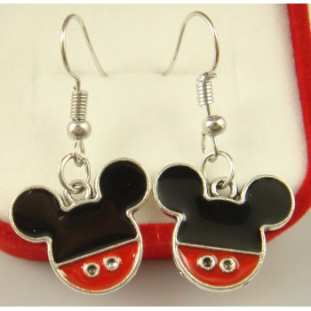 Pendientes Mickie mouse