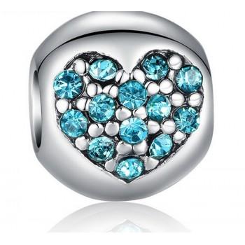 Charm corazón de hielo