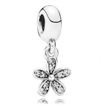 Charm flor de diamante