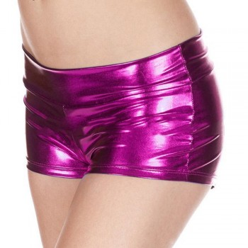 Shorts Rosa Metalizados