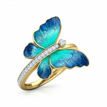 Anillo mariposa Talla 9 (...