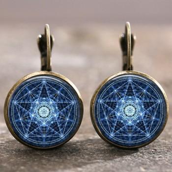 Pendientes Pentagrama Wicca